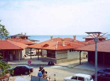 Рибни ресторанти-град Несебър